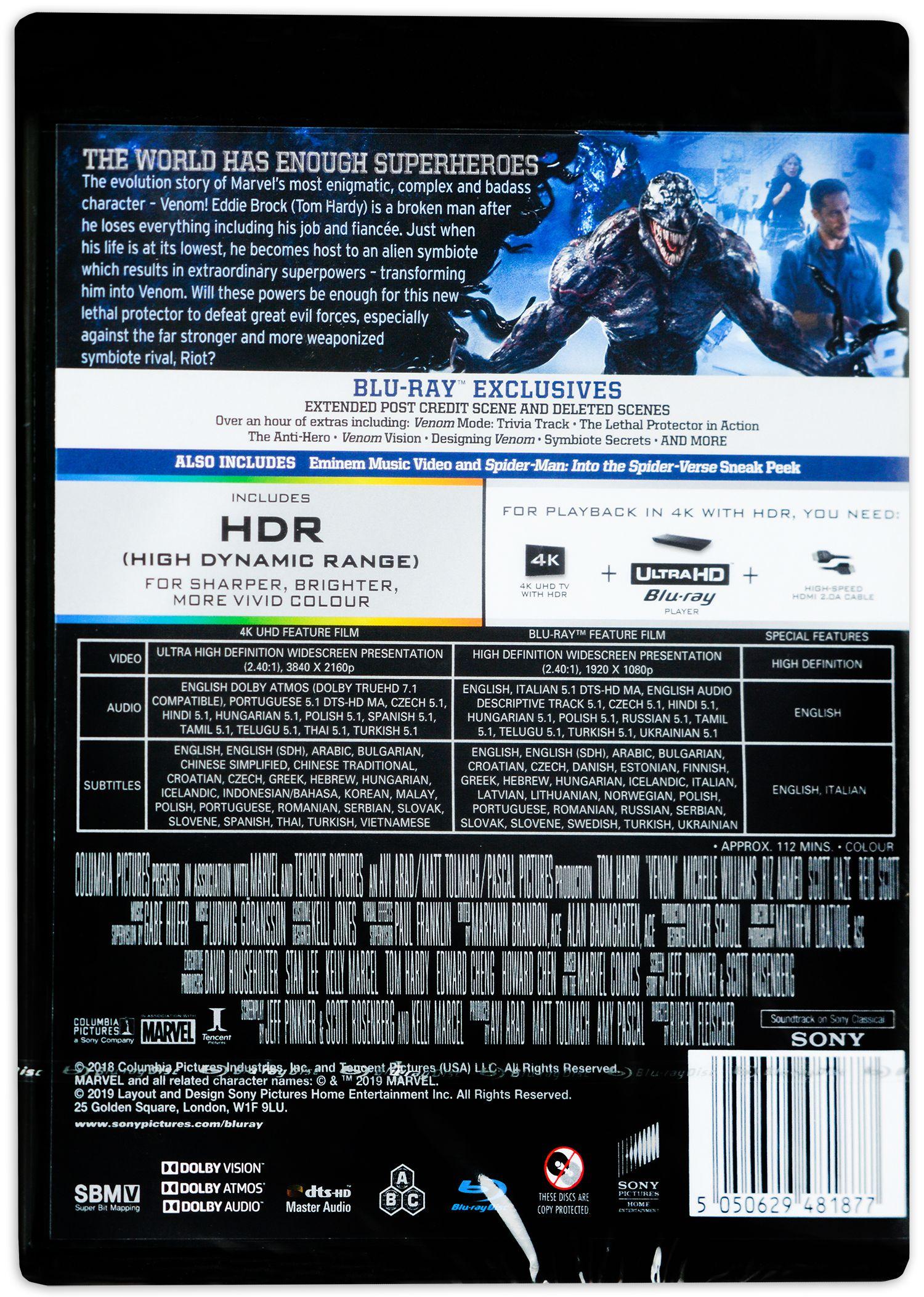 Венъм (4K UHD Blu-Ray) - 3