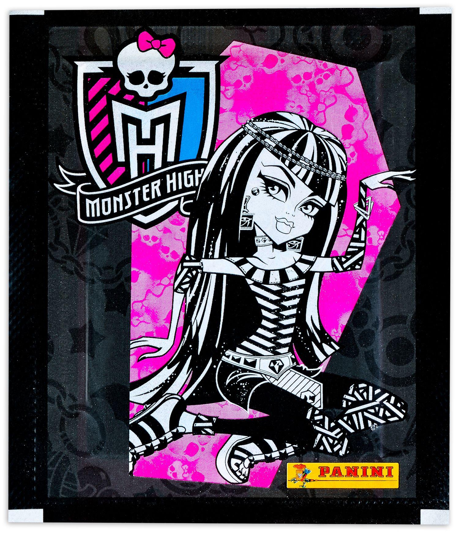 Стикери Panini Monster High - пакет с 5 бр. стикери - 1