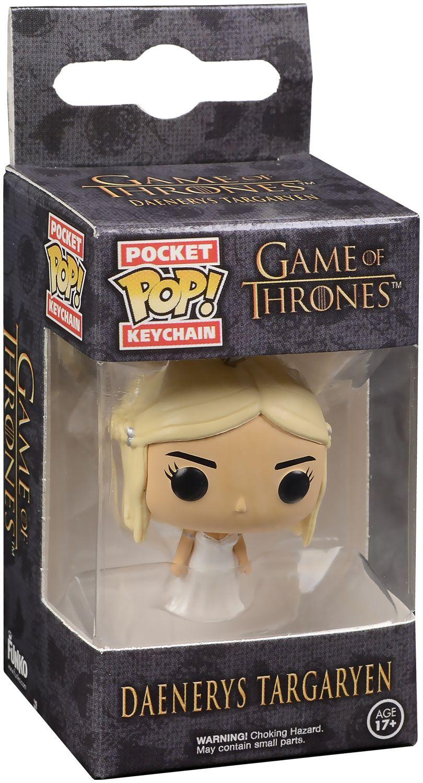 Ключодържател Funko Pocket Pop! Game Of Thrones - Daenerys Targaryen, 4 cm - 2
