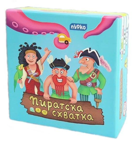 Детска настолна игра Пиратска Схватка - 1