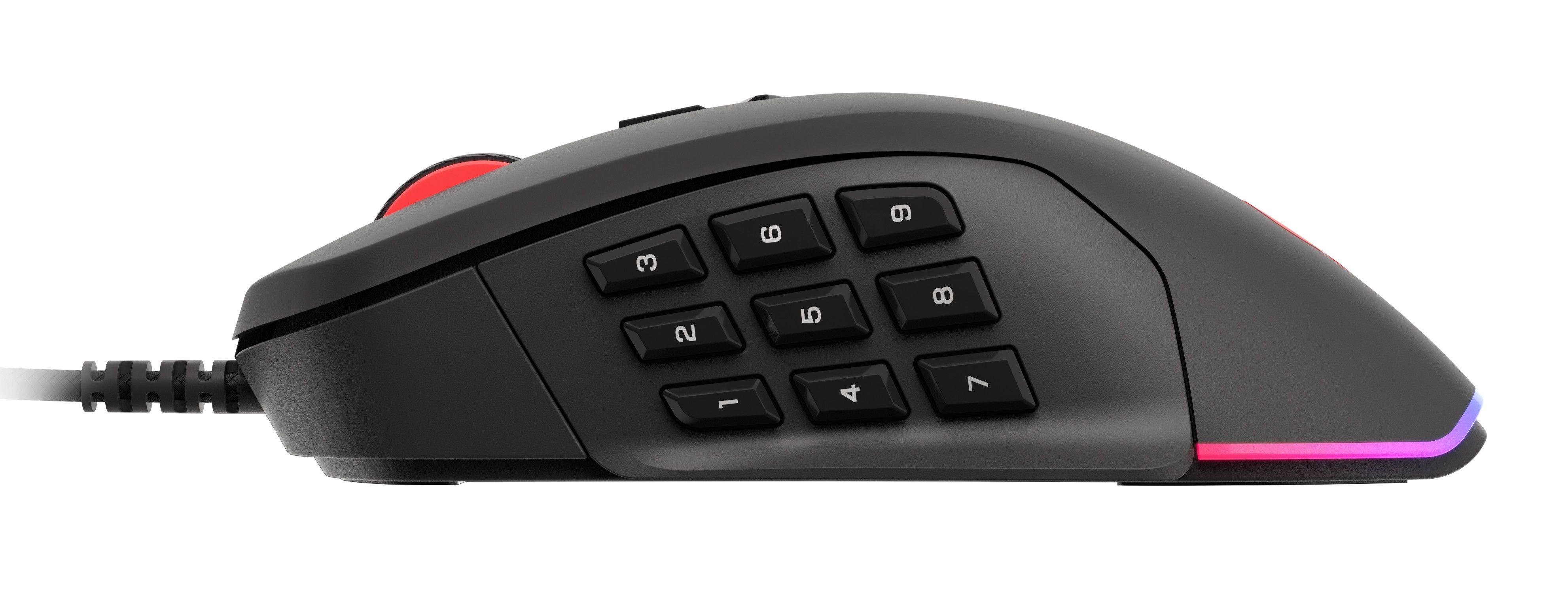 Гейминг мишка Genesis - Xenon 770, черна - 6