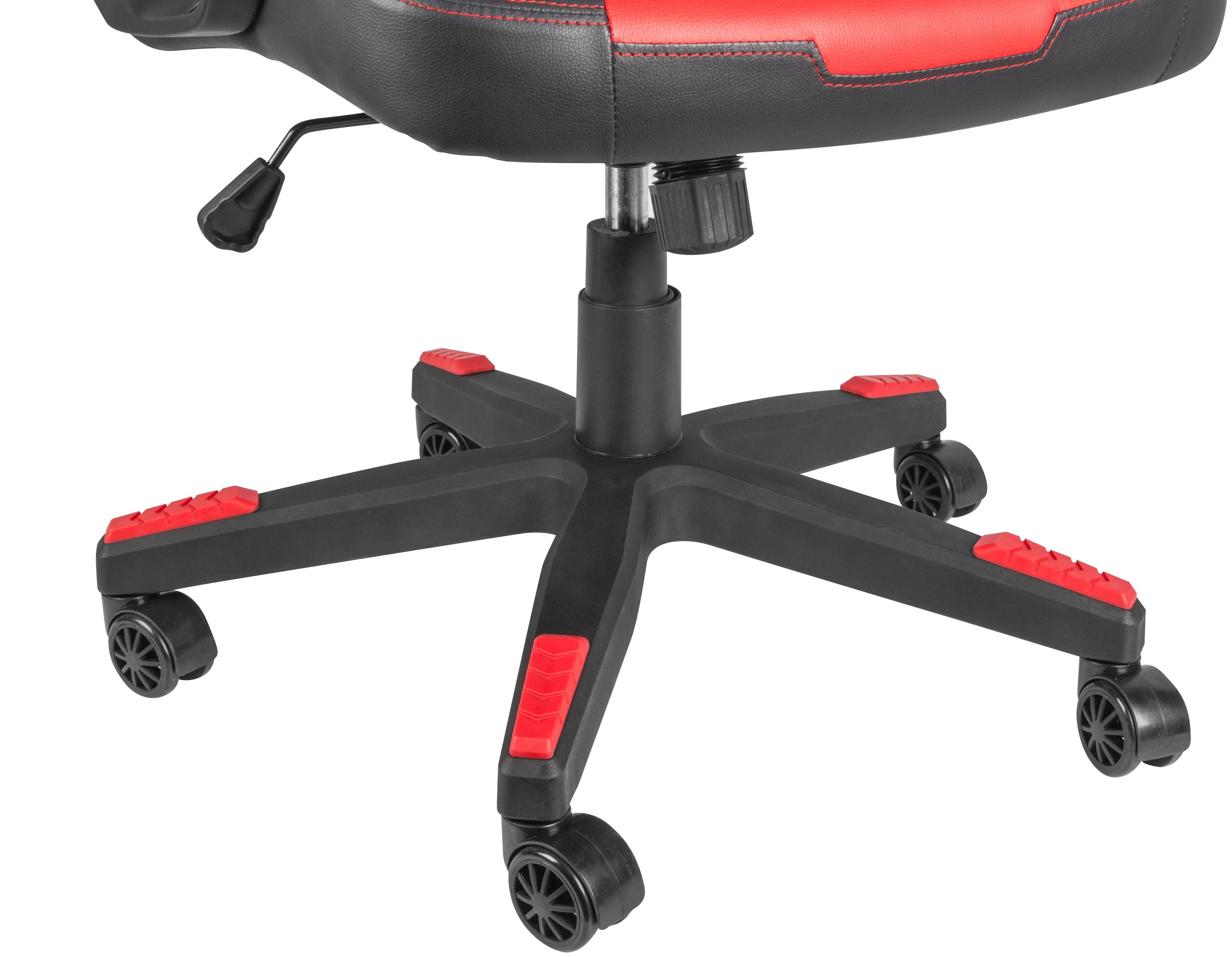 Гейминг стол Genesis - Nitro 370, червен/черен - 9