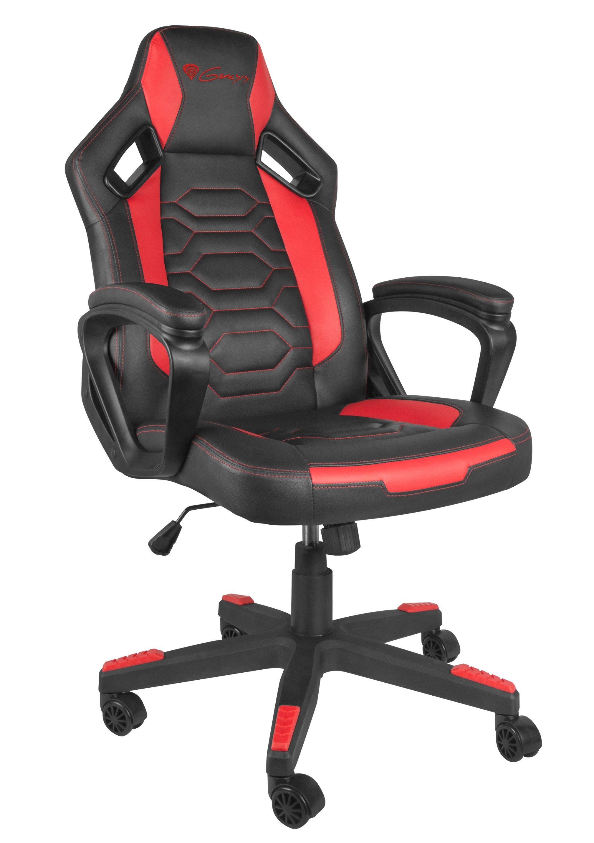 Гейминг стол Genesis - Nitro 370, червен/черен - 2