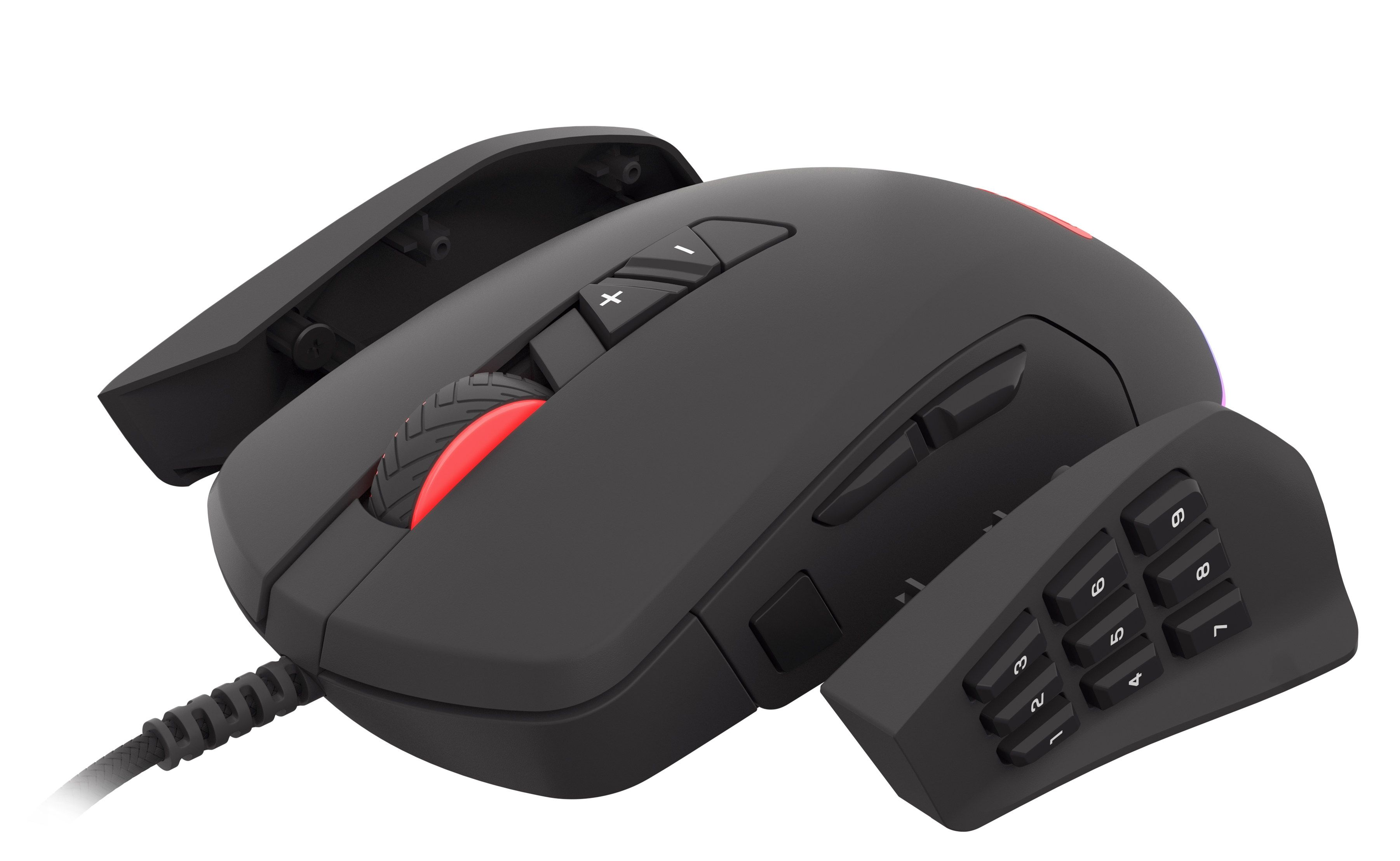Гейминг мишка Genesis - Xenon 770, черна - 7