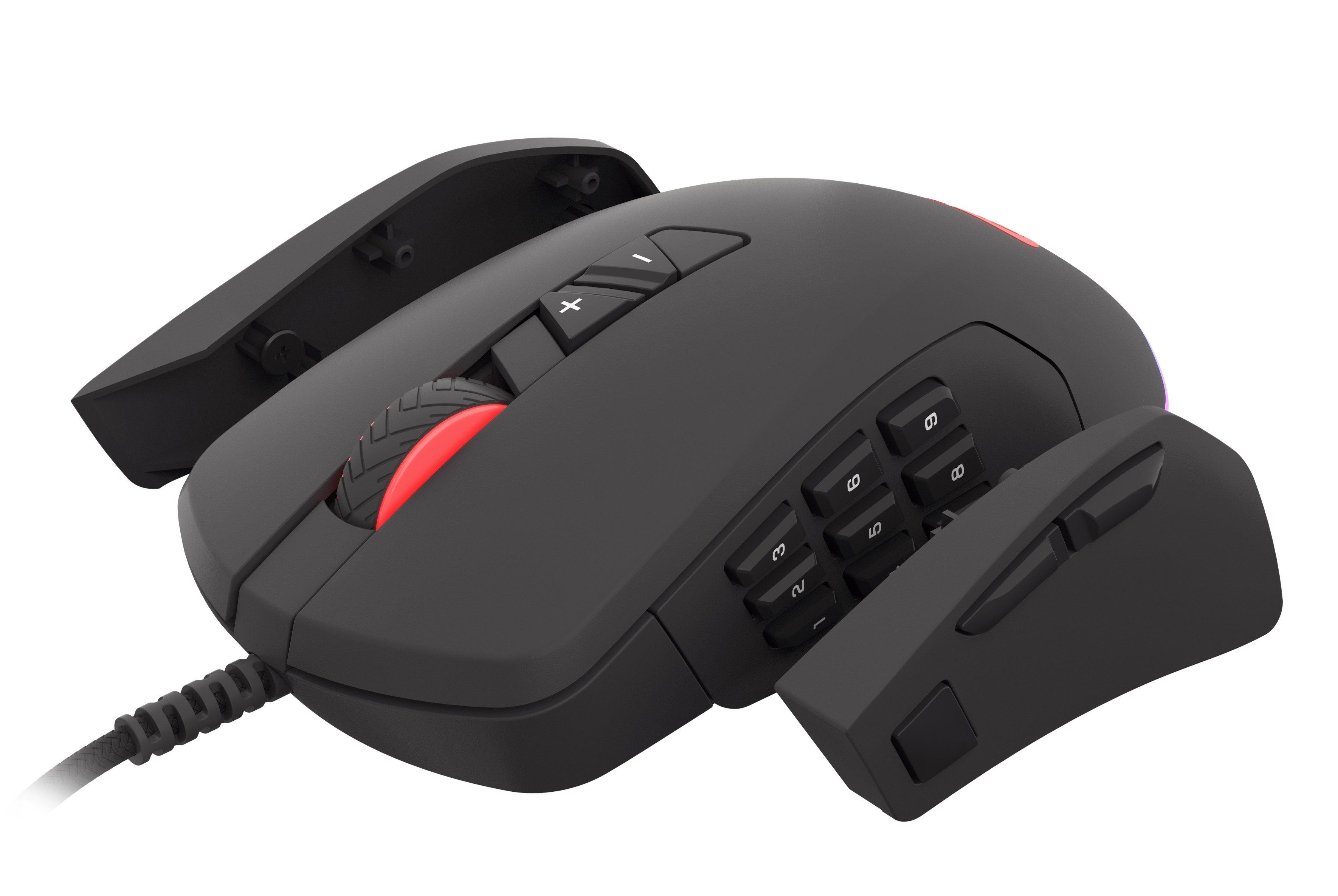 Гейминг мишка Genesis - Xenon 770, черна - 8