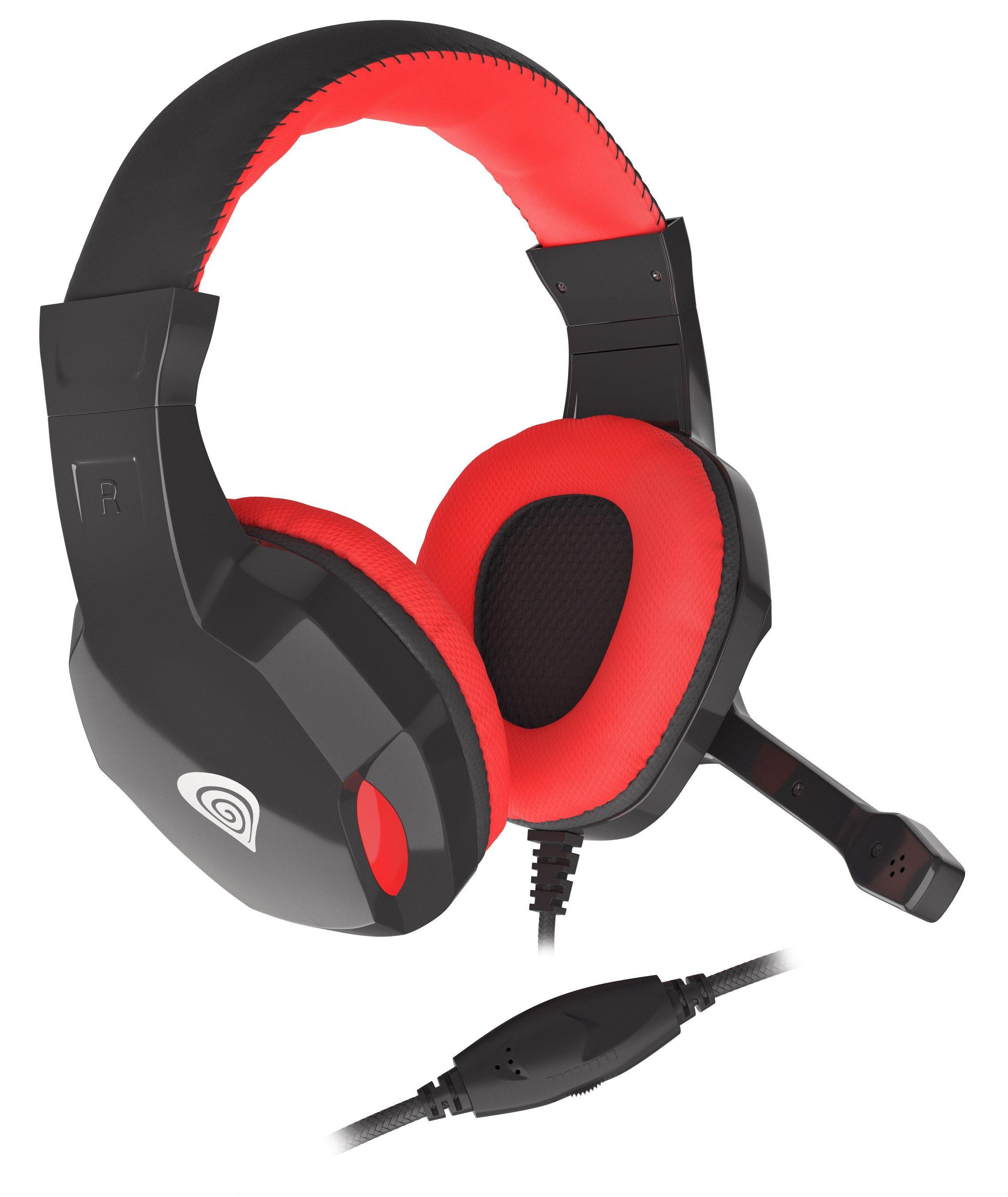 Гейминг слушалки Genesis - Argon 110, черни - 3