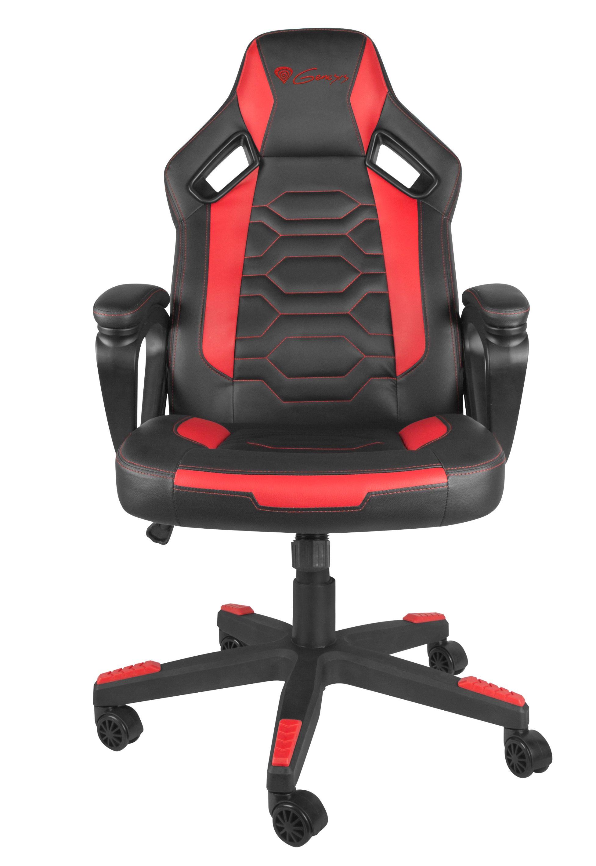 Гейминг стол Genesis - Nitro 370, червен/черен - 3