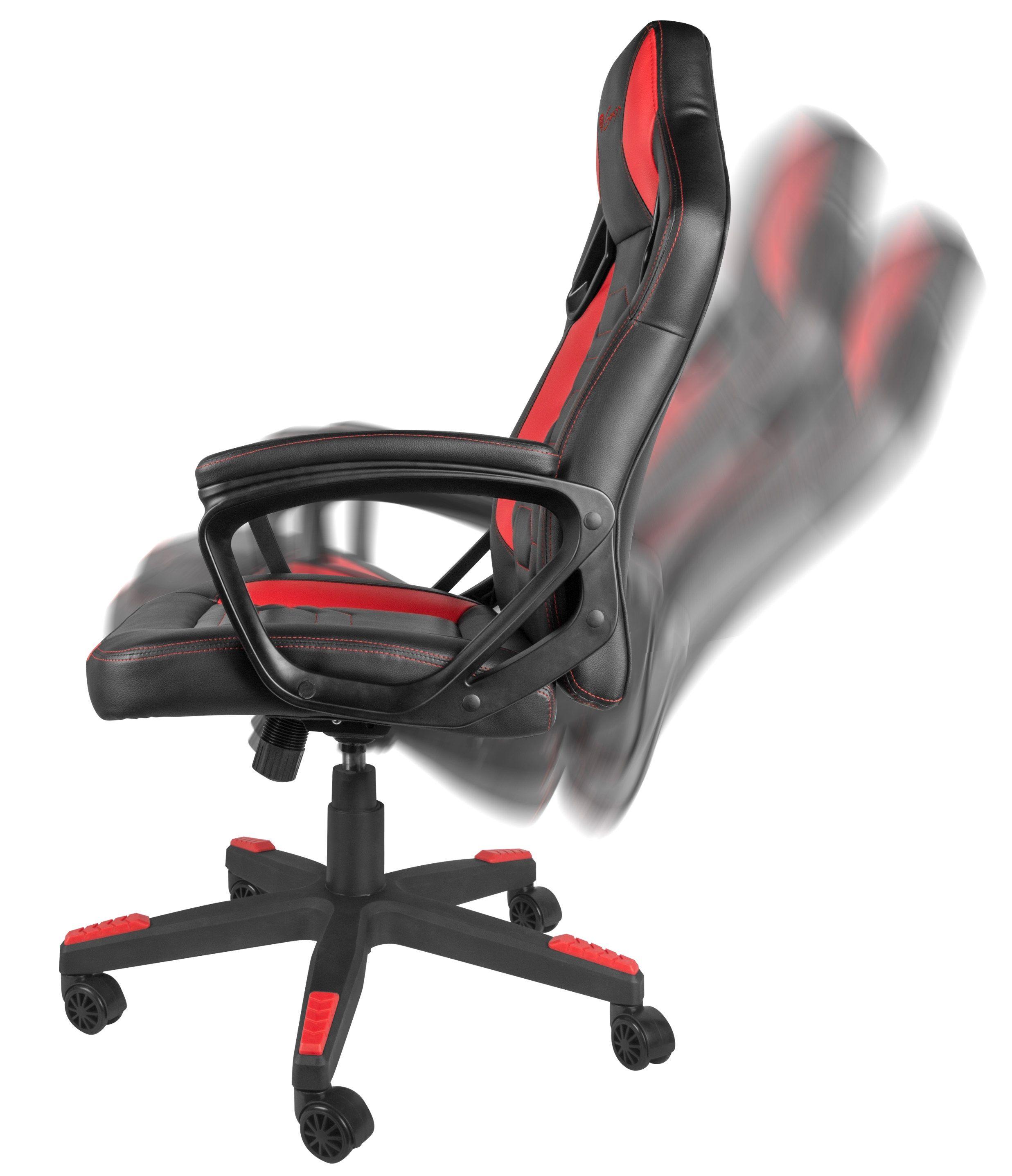 Гейминг стол Genesis - Nitro 370, червен/черен - 8