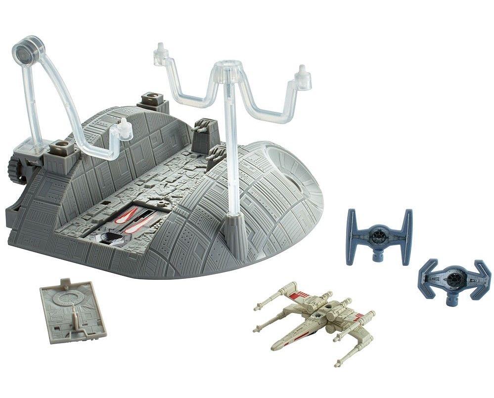 Космическа станция Hot Wheels Star Wars: Rouge One - Trench Run Playset - 1
