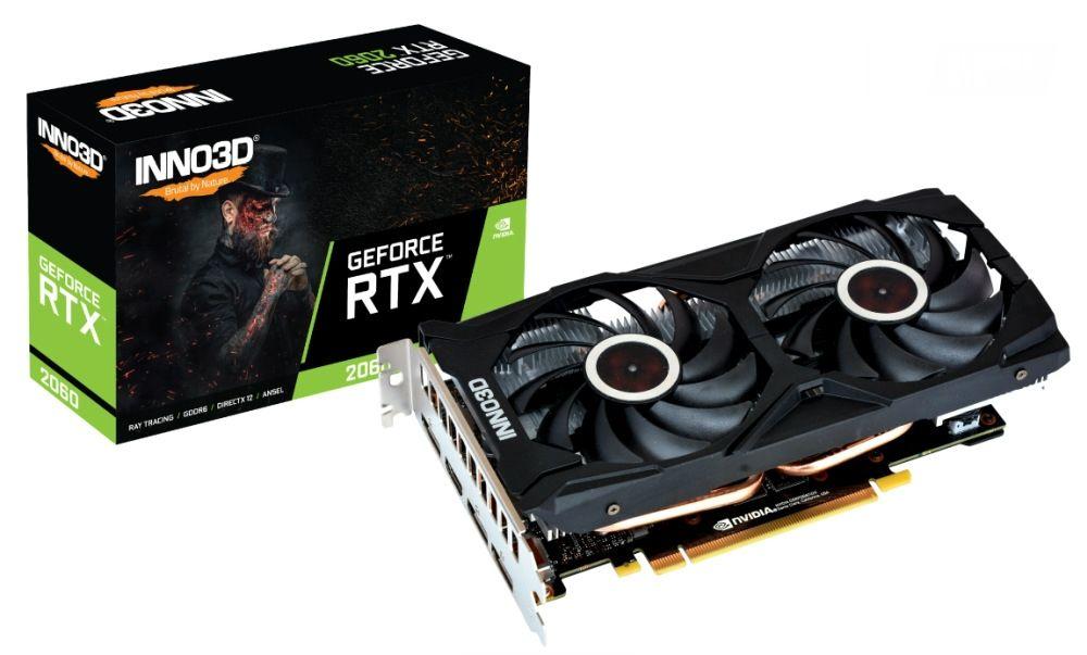 Видео карта Inno3D - GeForce RTX 2060 SUPER Twin X2 OC - 1
