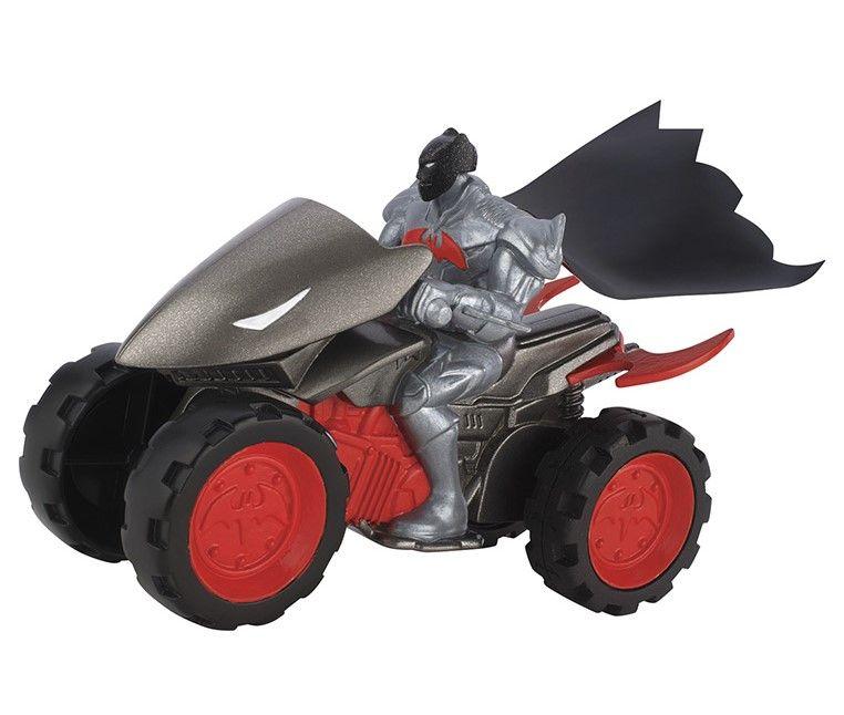 Количка със задвижване Mattel от серията Batman (сива) - 1