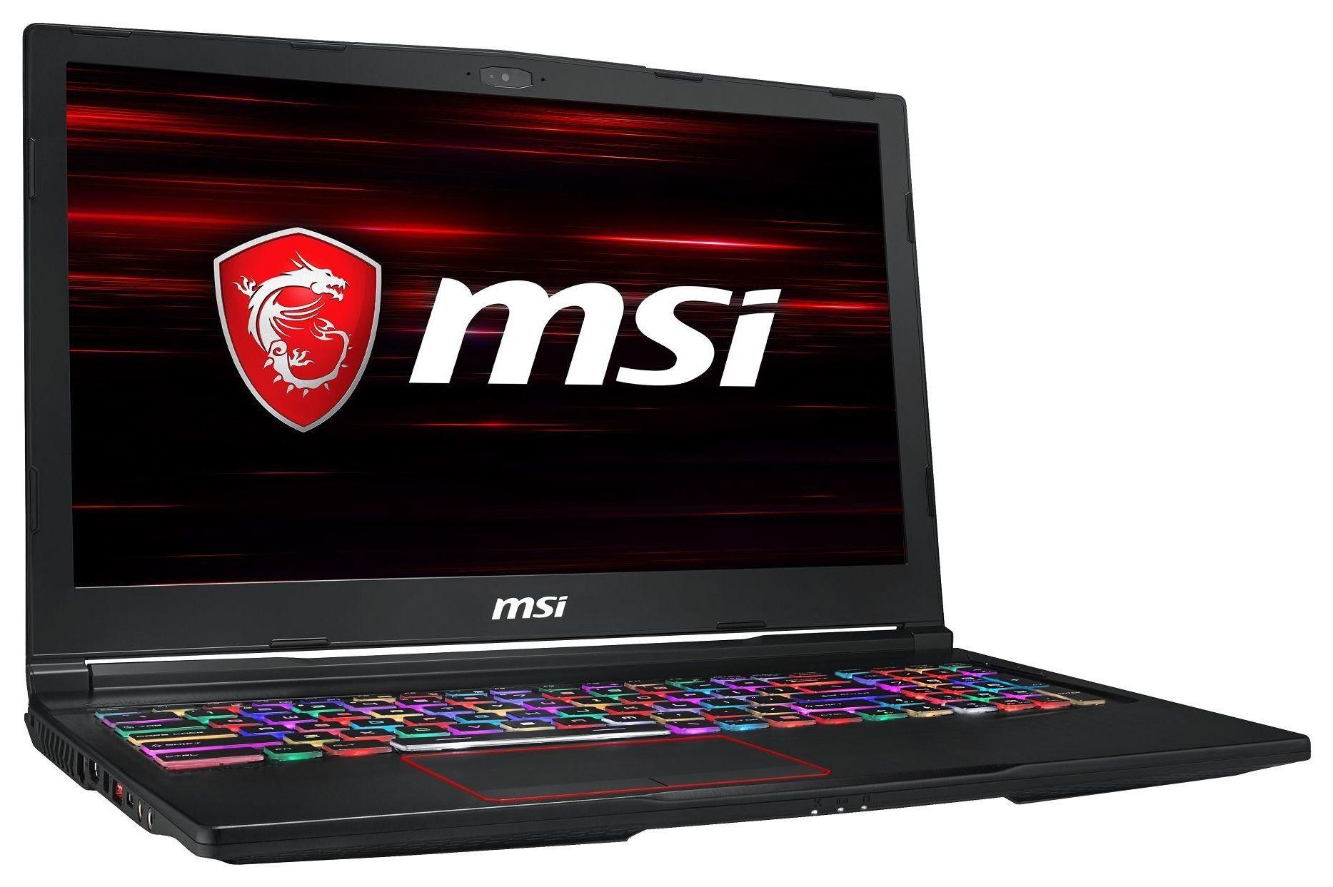 Гейминг лаптоп MSI GE63 - Raider 8SE, черен - 2