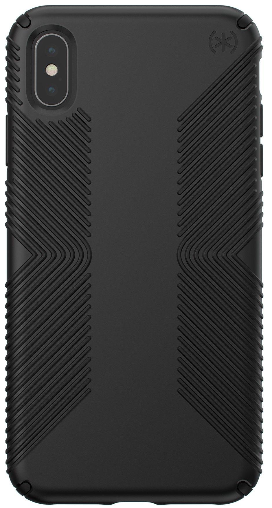Калъф Speck Presidio Grip - за iPhone XS Max, черен - 1
