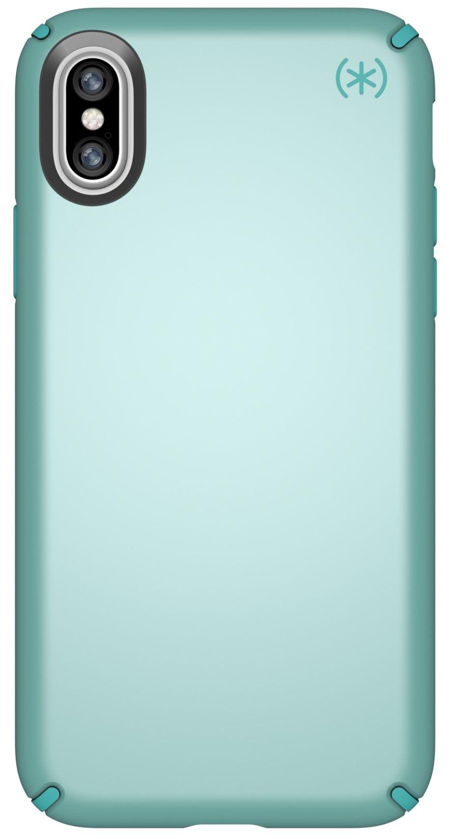 Калъф Speck Presidio Metallic - за iPhone X, бледозелен - 1