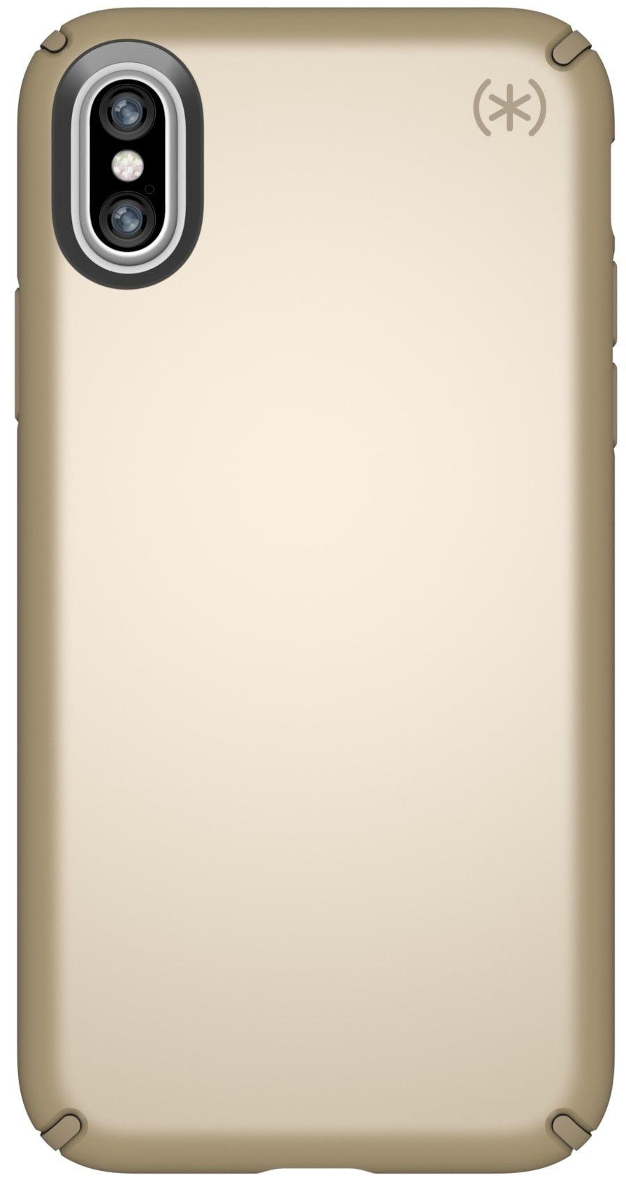 Калъф Speck Presidio Metallic - за iPhone X, златист - 1