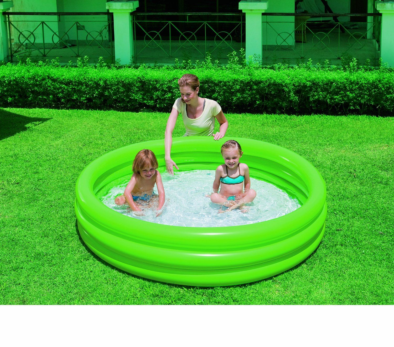 Надуваем басейн с 3 ринга Bestway - 2