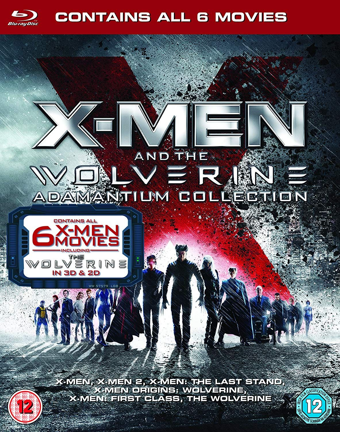 X-Men & Wolverine Adamantium Collection (Blu-ray) - 1