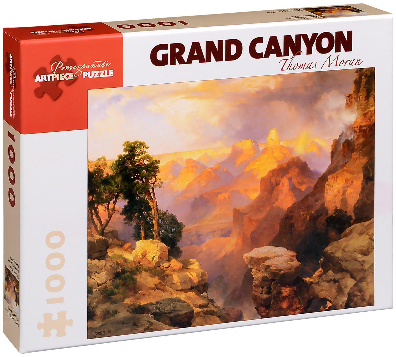 Пъзел Pomegranate от 1000 части - Гранд Каньон, Томас Моран - 1