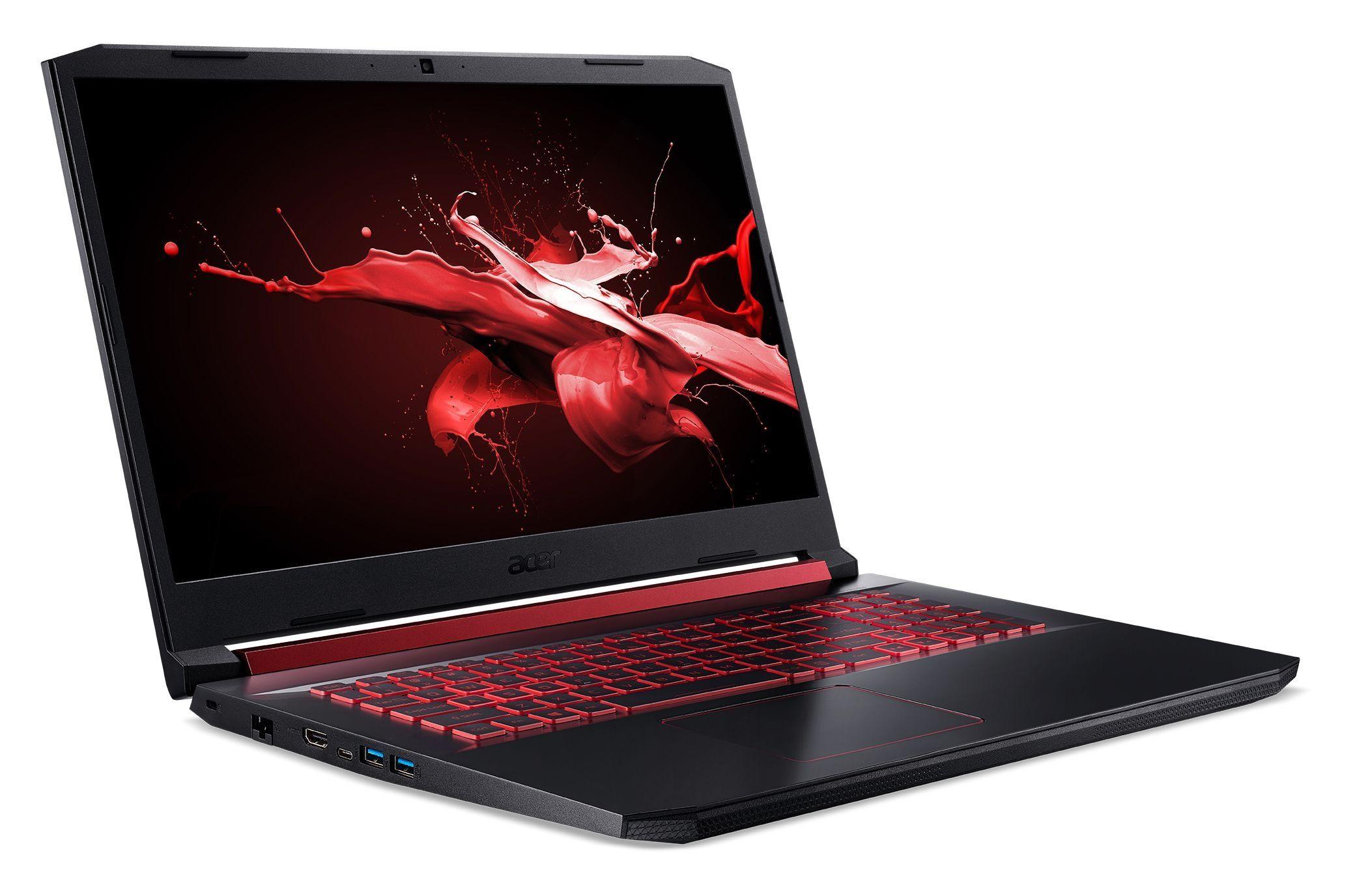 "Геймърски лаптоп Acer Nitro 5 - AN517-51-7553, 17.3"", FHD, черен - 2"