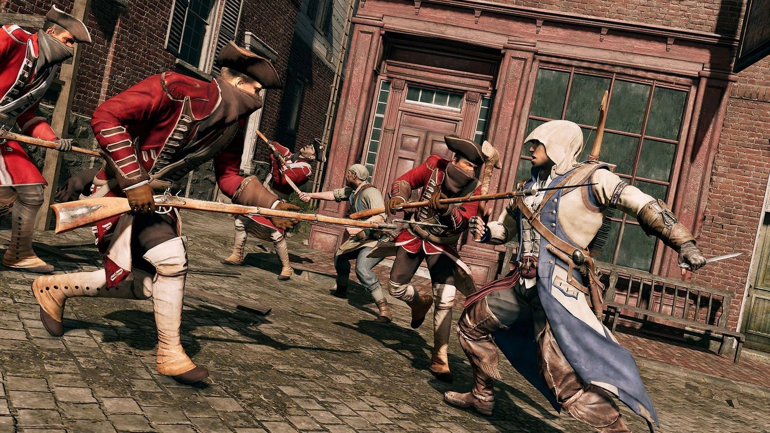 Assassin's Creed III Remastered + All Solo DLC & Assassin's Creed Liberation (Xbox One) - 7