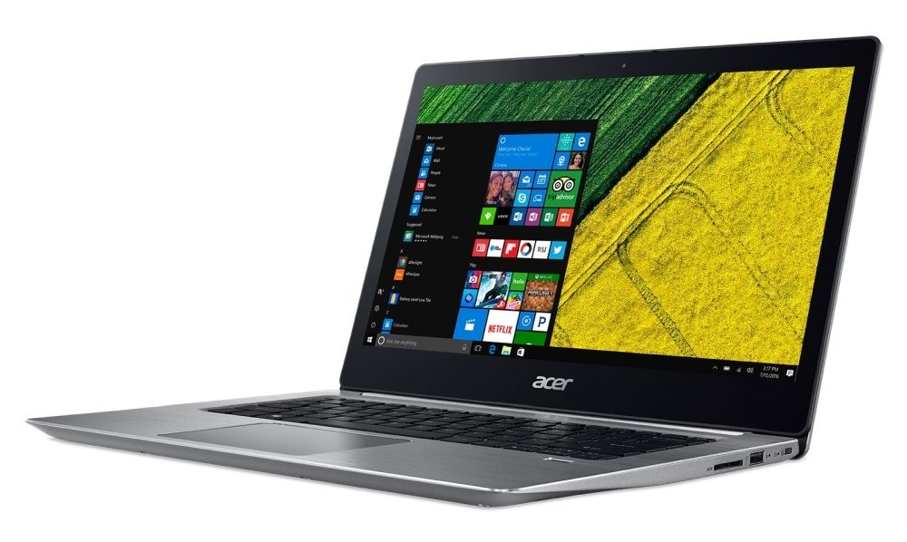 "Лаптоп Acer Aspire Swift 3, SF314-52-34L8 - 14"" IPS FullHD - 2"