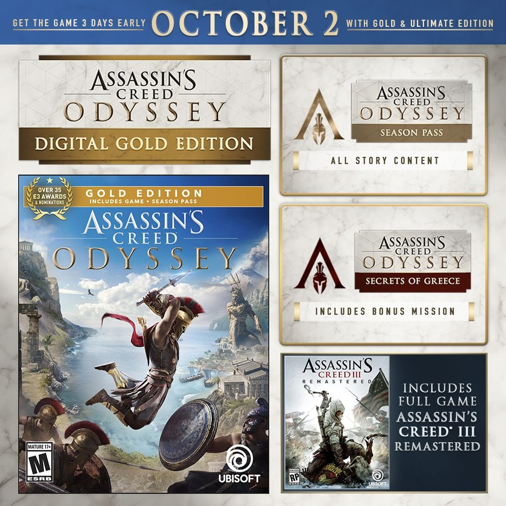Assassin's Creed Odyssey Gold Edition (PS4) - 4