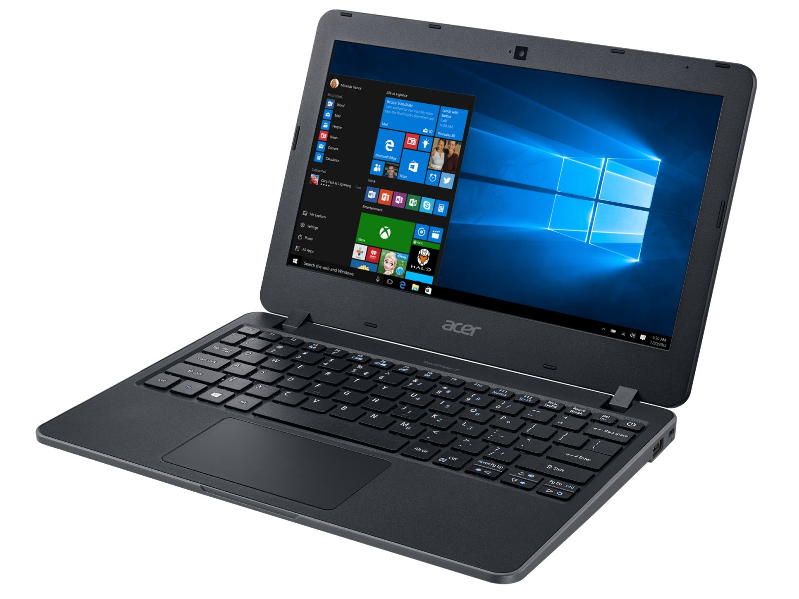 "Acer TravelMate B117 - 11.6"" HD Anti-Glare - 2"