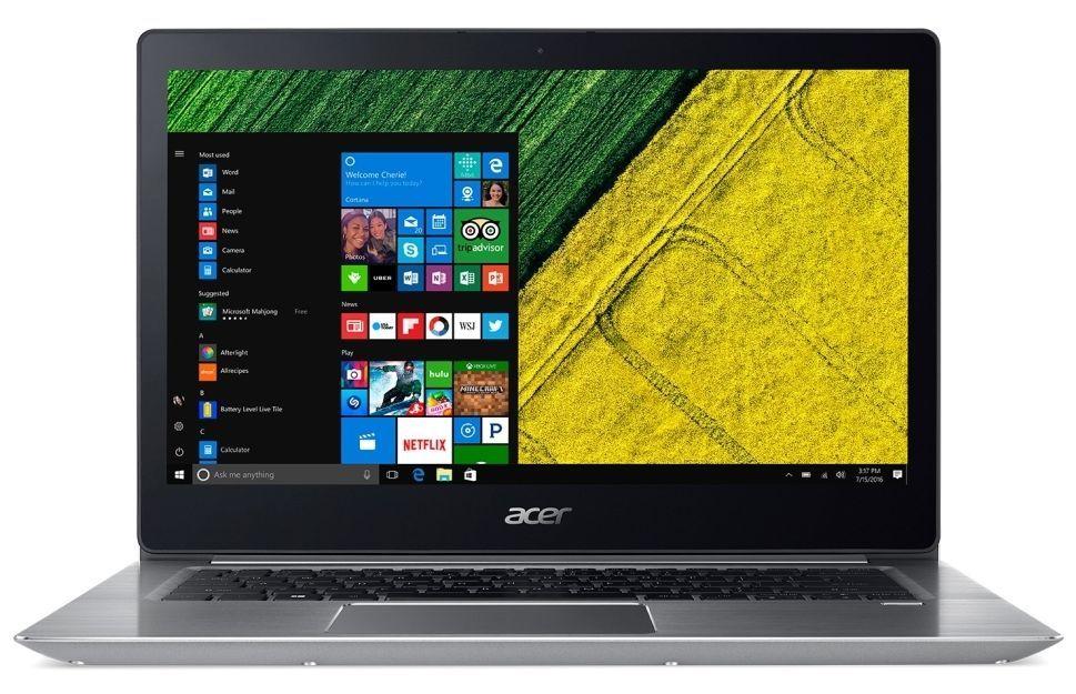 "Лаптоп Acer Aspire Swift 3, SF314-52-34L8 - 14"" IPS FullHD - 1"