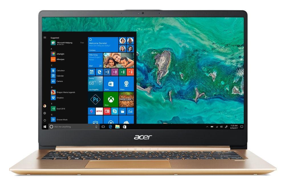 """Acer Aspire Swift 1 Ultrabook SF114-32-P64W - 14"""" IPS - 1"""