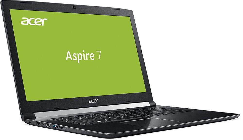 "Лаптоп Acer Aspire 7, A717-72G-76WH, Intel Core i7-8750H - 17.3"" FullHD - 2"