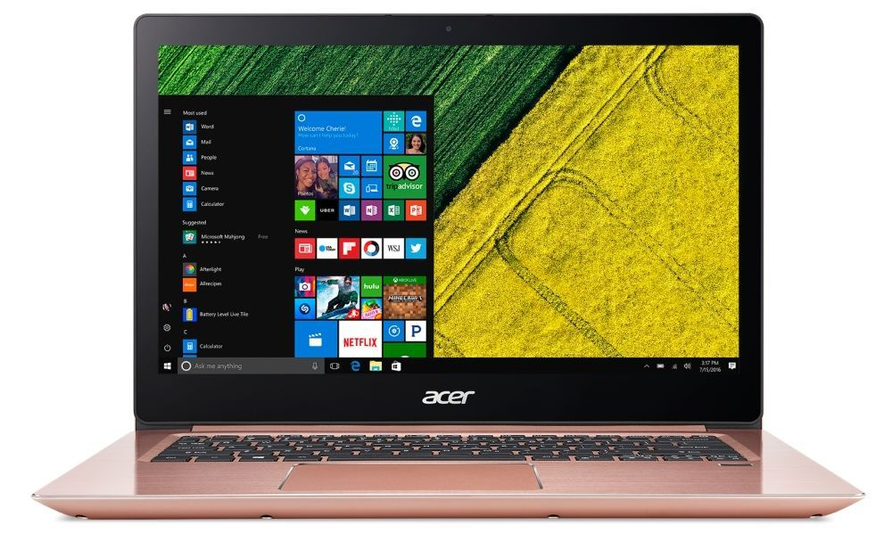 "Acer Aspire Swift 3 Ultrabook - 14.0"" FullHD - 1"