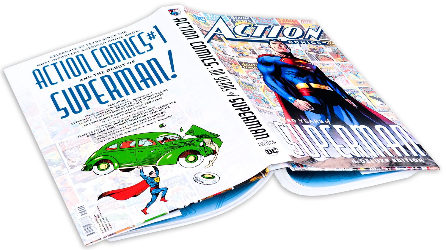 Action Comics: 80 Years of Superman Deluxe Edition-1 - 2