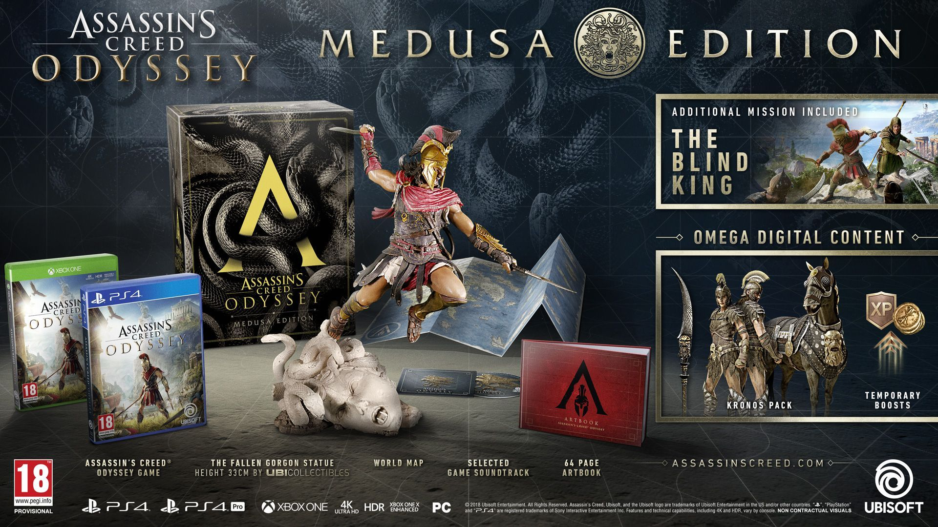 Assassin's Creed Odyssey Medusa Edition (Xbox One) - 3