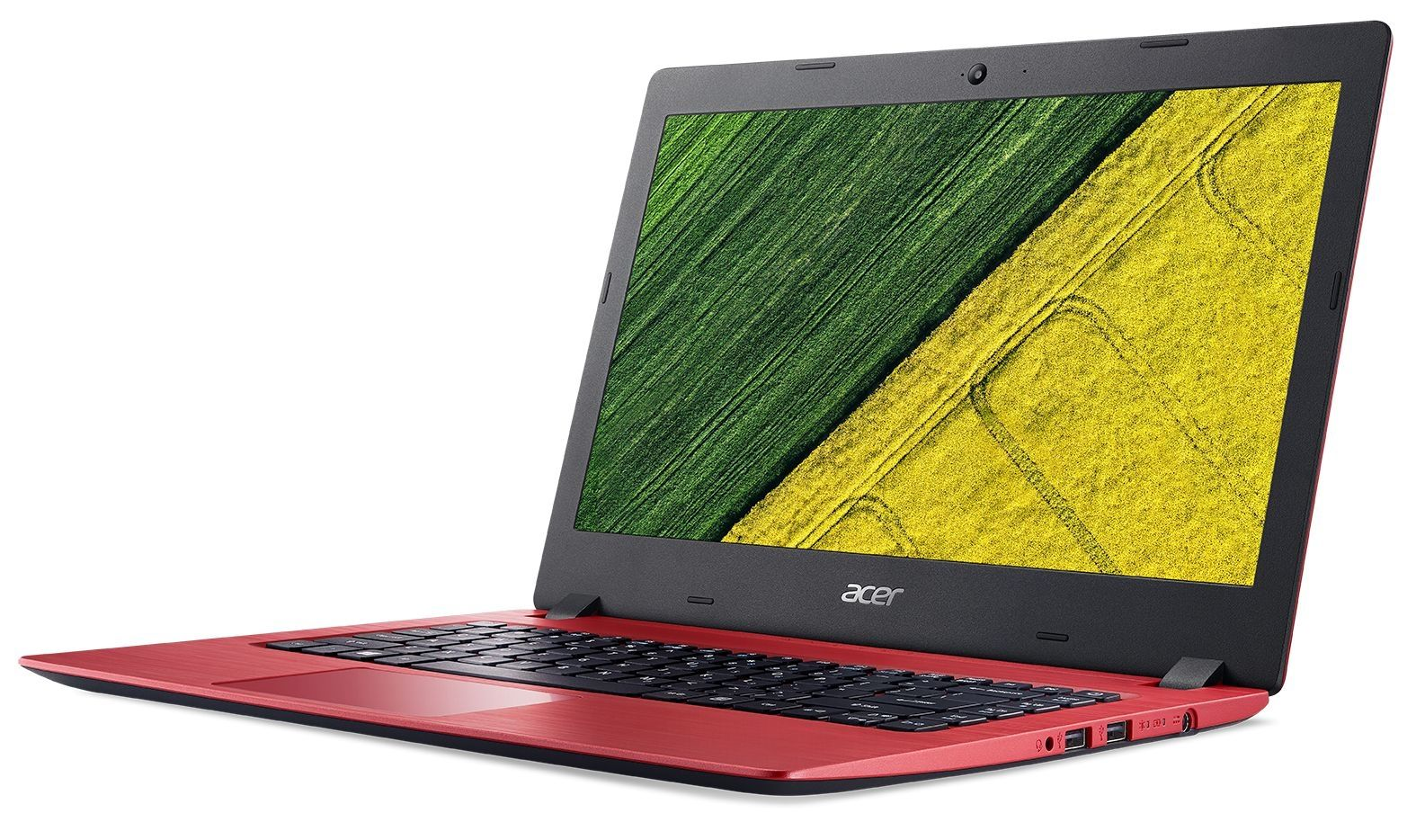 Лаптоп Acer Aspire 1 - A114-31-C6RC, червен - 2