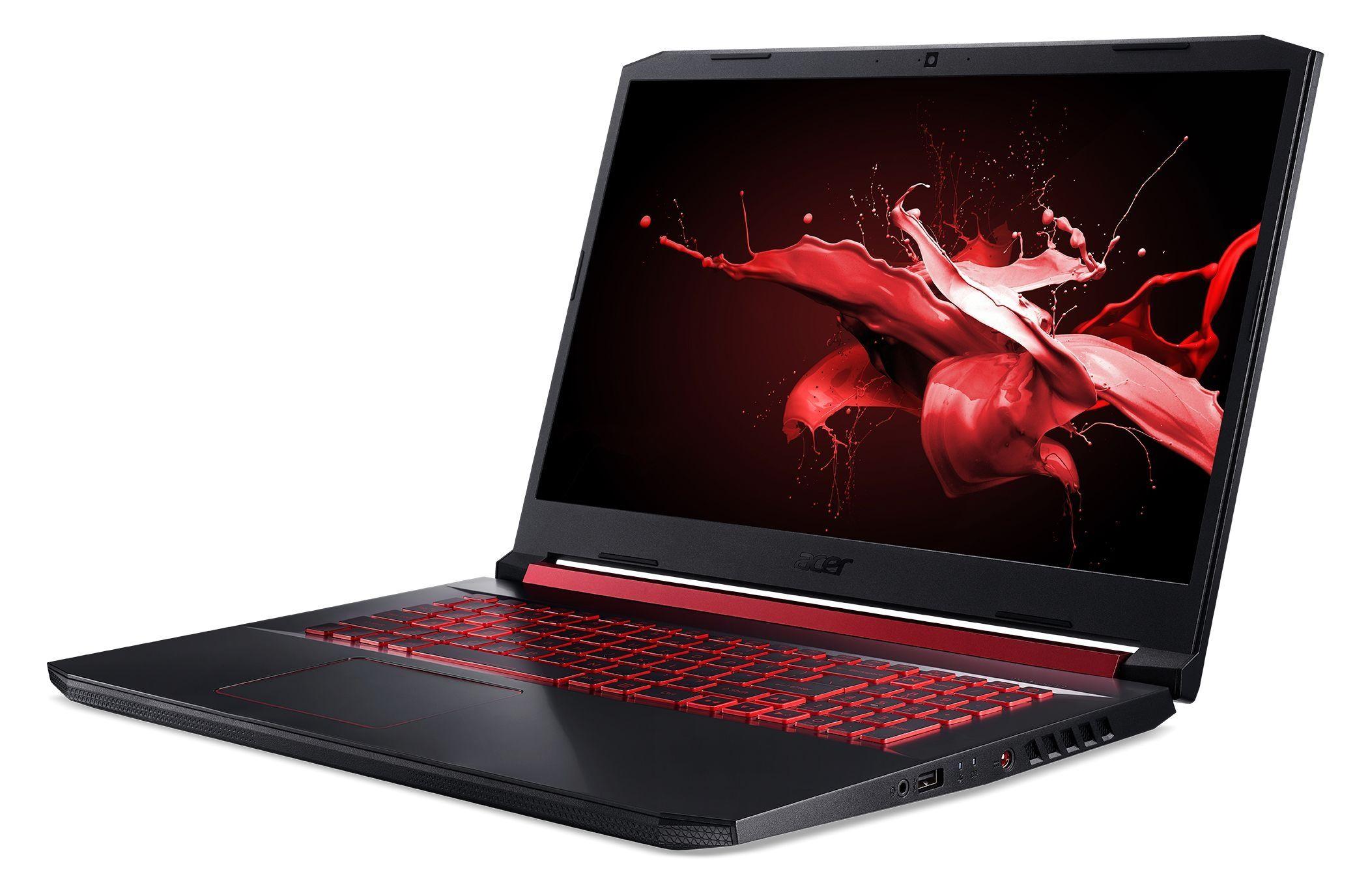 "Геймърски лаптоп Acer Nitro 5 - AN517-51-51KD,17.3"", FHD, черен - 3"