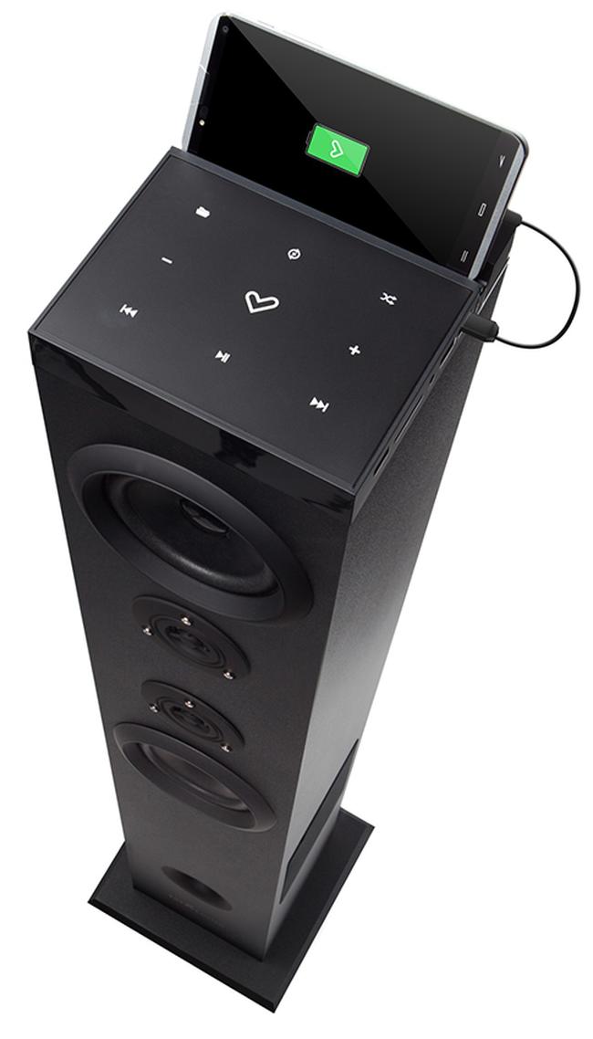 Колонка Energy Sistem Tower 5 - Bluetooth, черна - 6