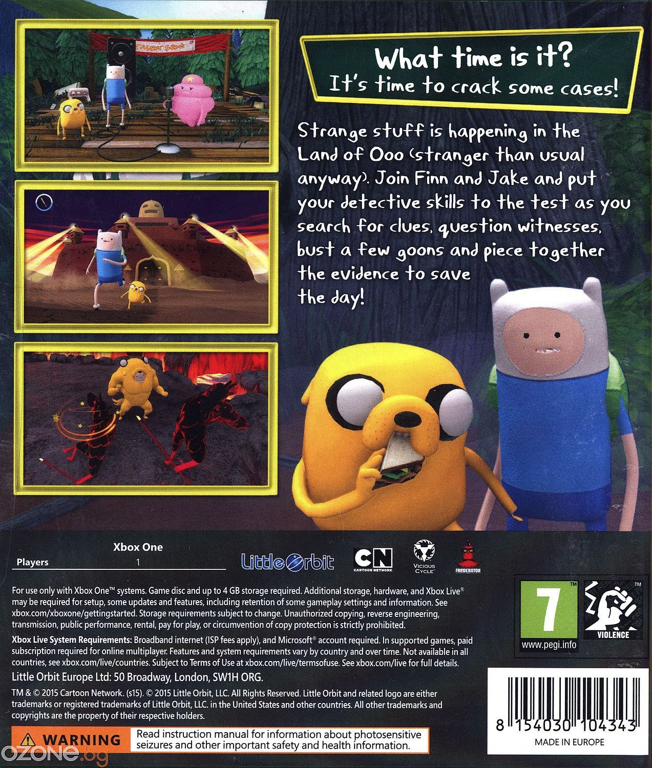 Adventure Time: Finn and Jake Investigations (Xbox One) - 3