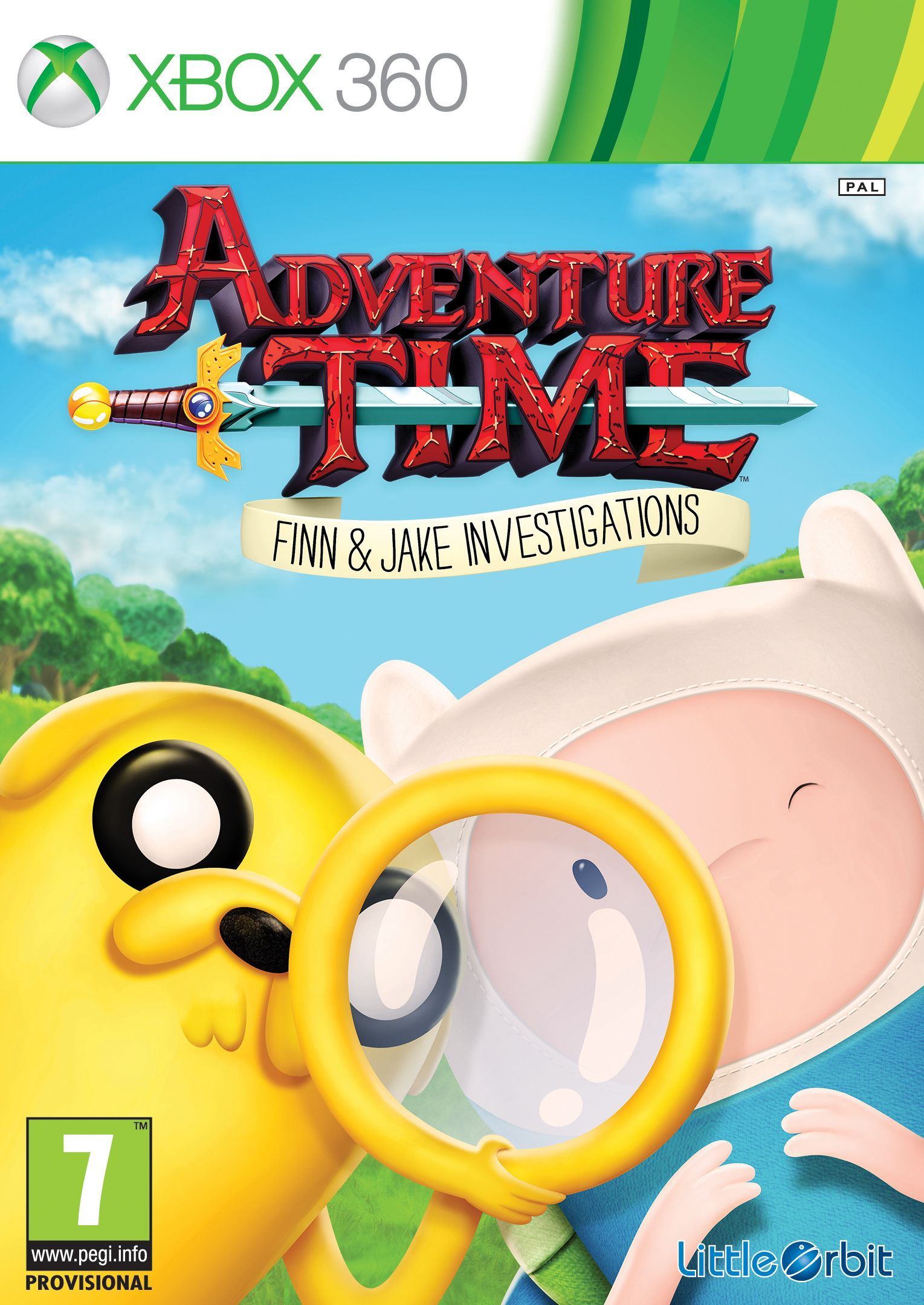 Adventure Time: Finn and Jake Investigations (Xbox 360) - 1
