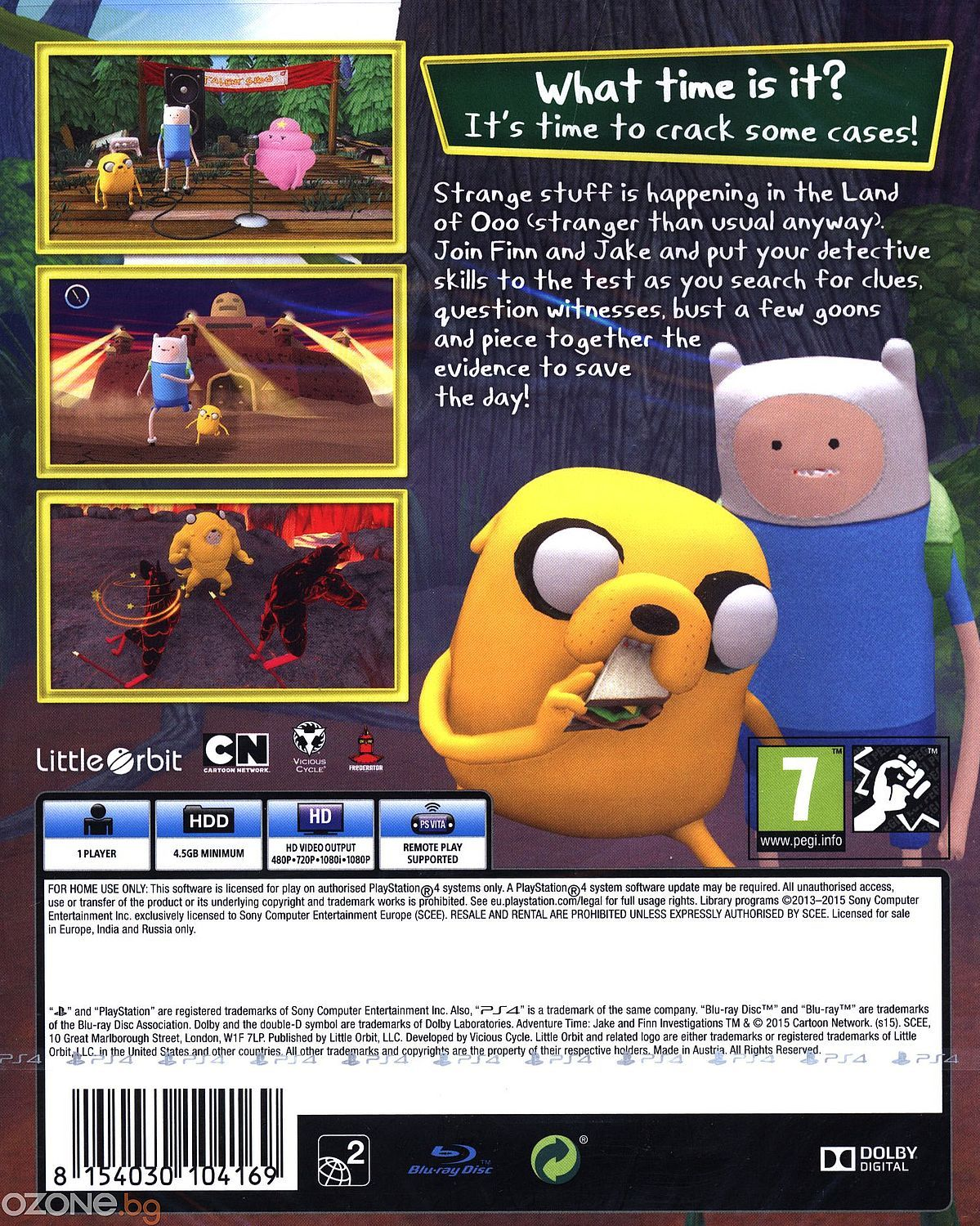 Adventure Time: Finn and Jake Investigations (PS4) - 10