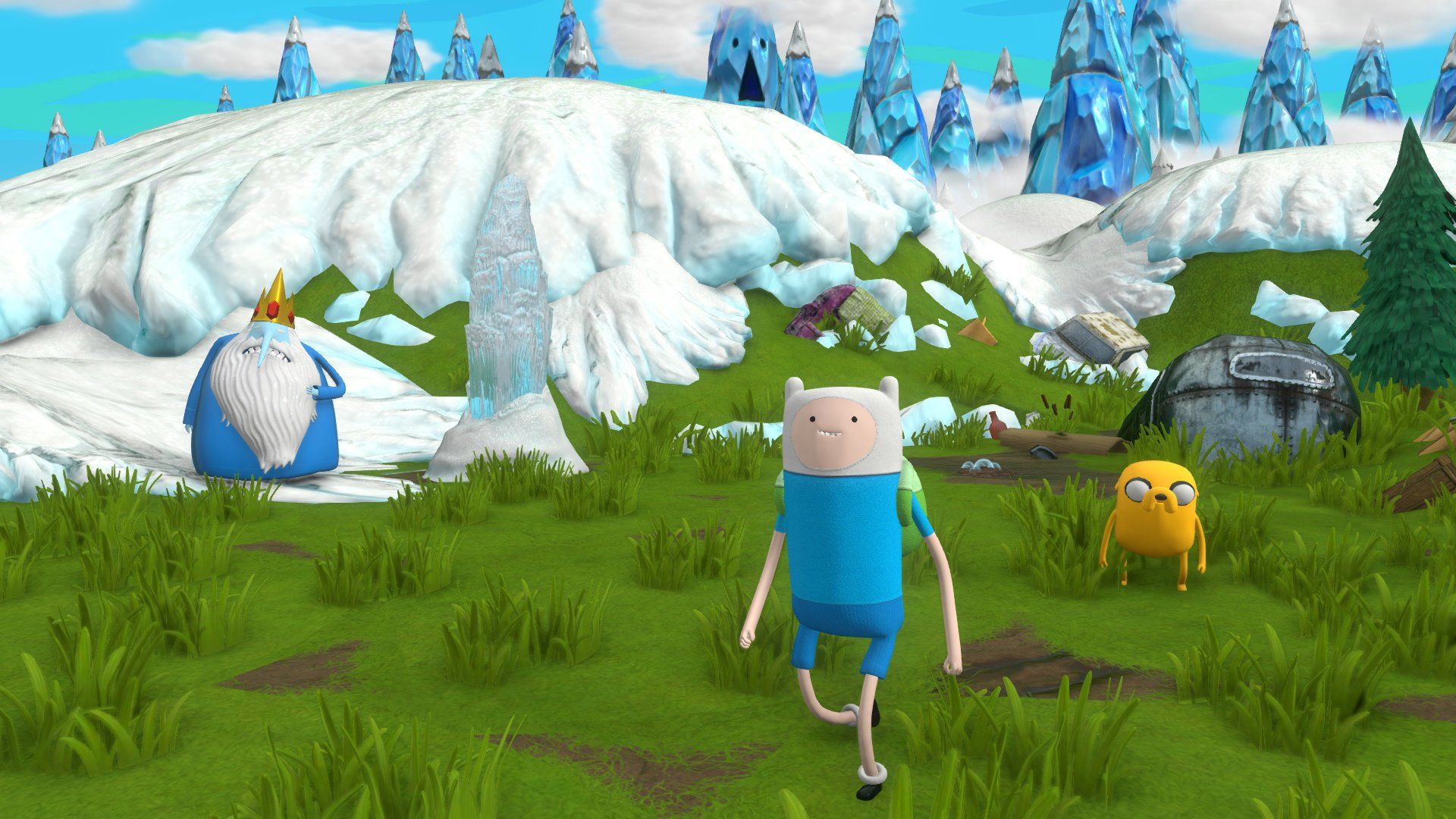 Adventure Time: Finn and Jake Investigations (PS3) - 6