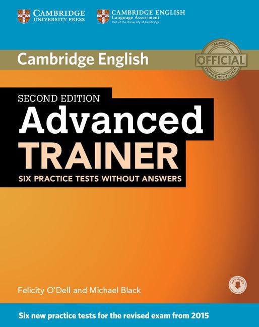 Advanced Trainer Six Practice Tests without Answers with Audio - 1