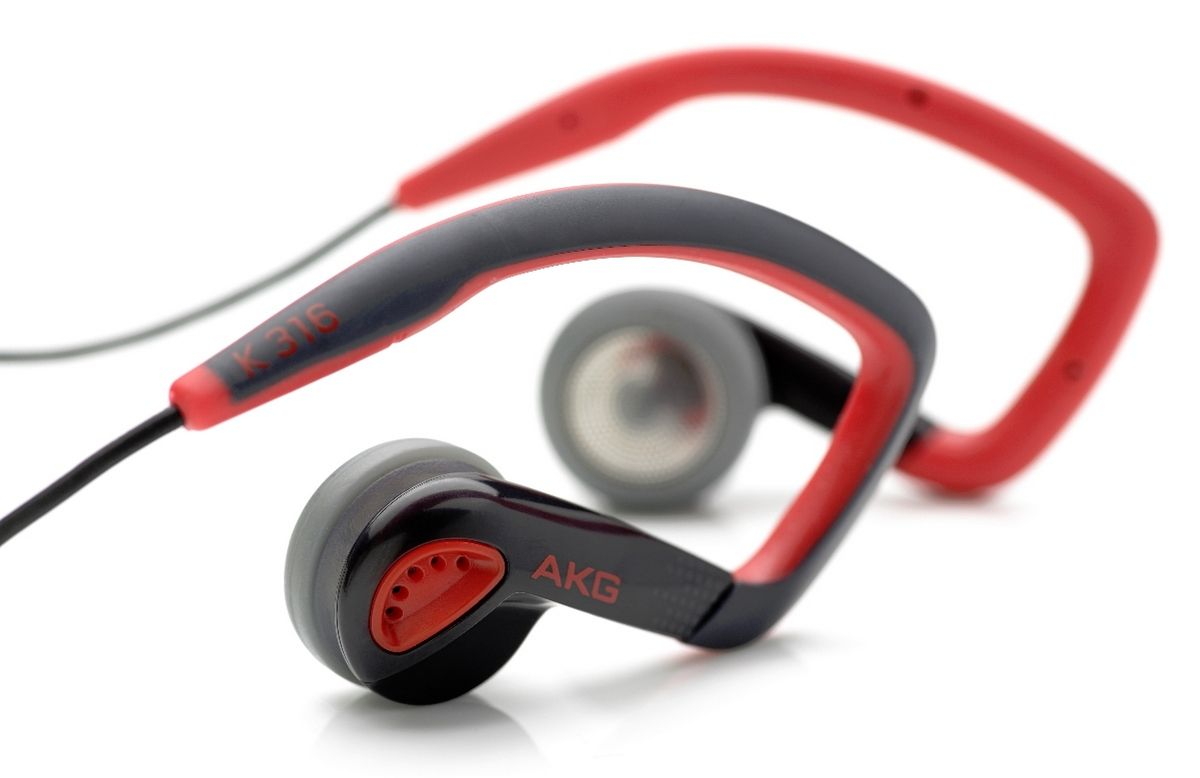 Слушалки AKG K316 - червени - 2