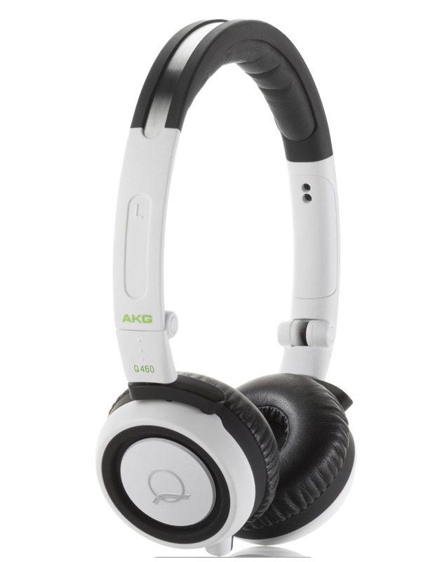 Слушалки AKG Q460 Mini - бели - 1