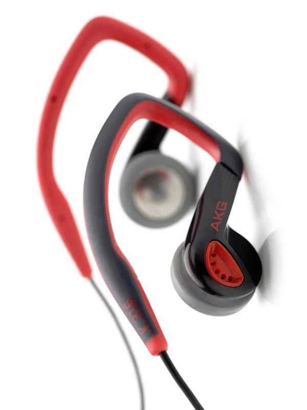 Слушалки AKG K316 - червени - 1