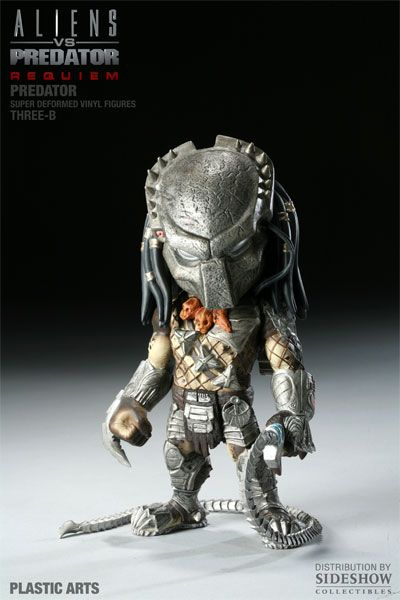 Aliens vs. Predator Requiem Super Deformed Vinyl Figure Predator 20 cm - 2