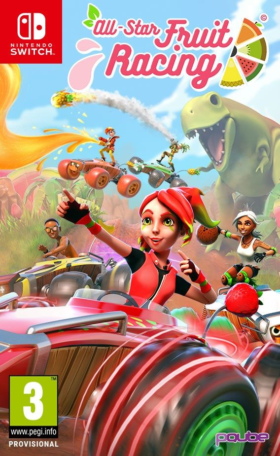 All-Star Fruit Racing (Nintendo Switch) - 1