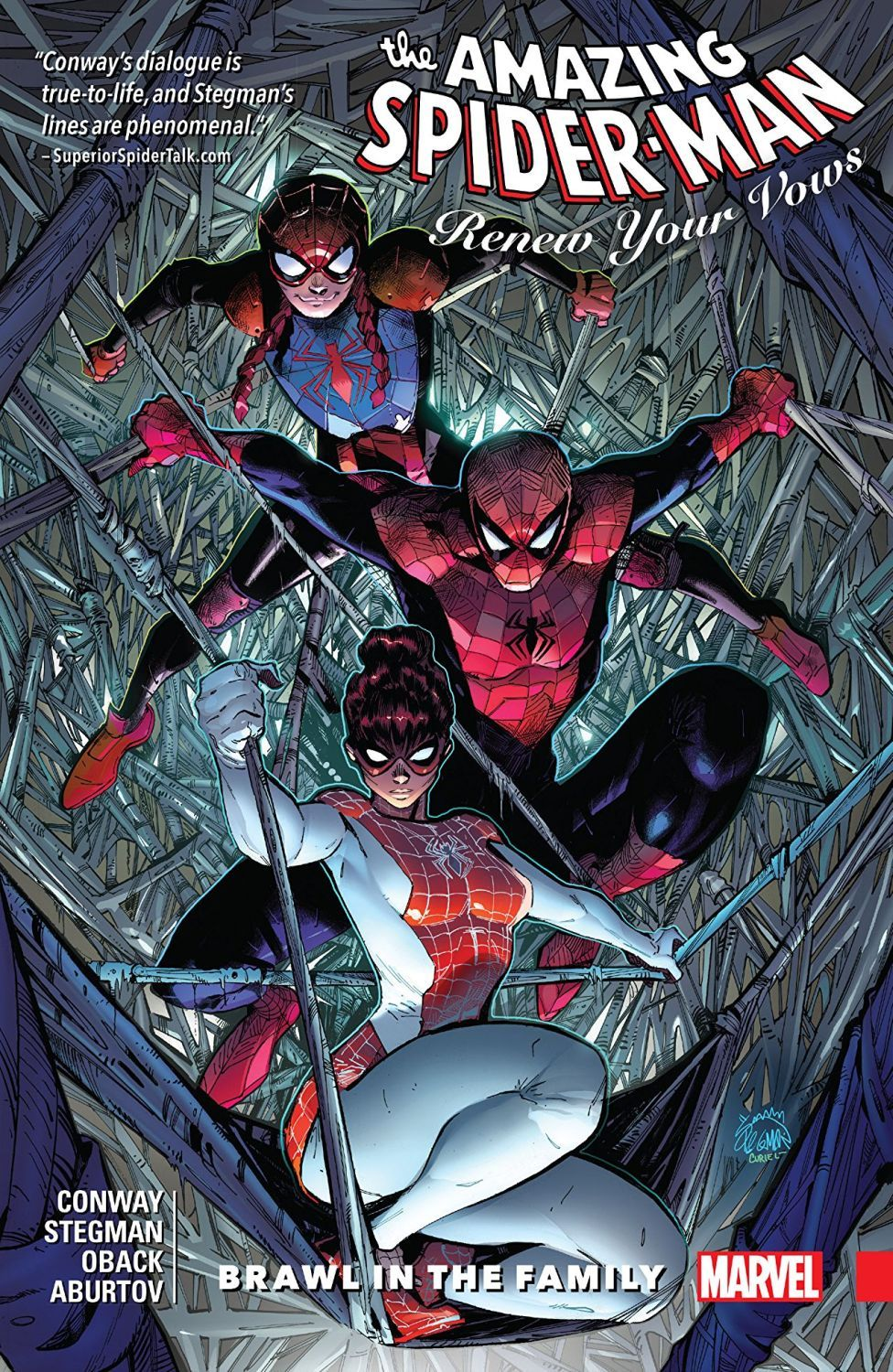 Amazing Spider-Man Renew Your Vows Vol. 1 Brawl in the Family - 1