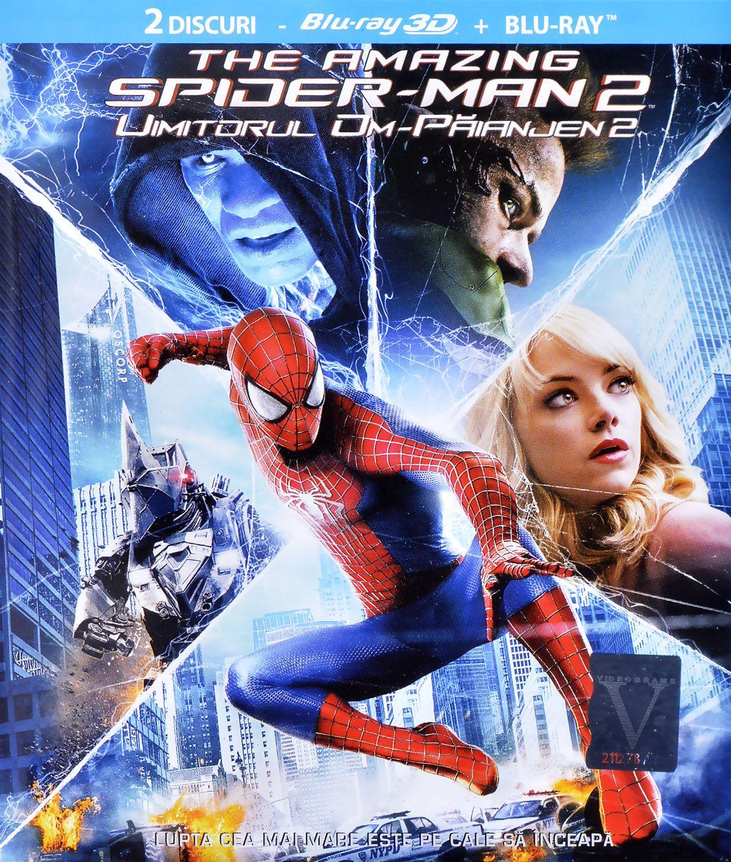 Невероятният Спайдър-мен 2 3D + 2D (Blu-Ray) - 1