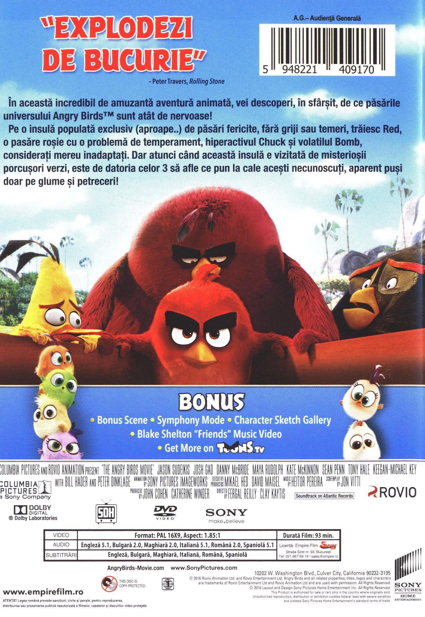 Angry Birds: Филмът (DVD) - 3