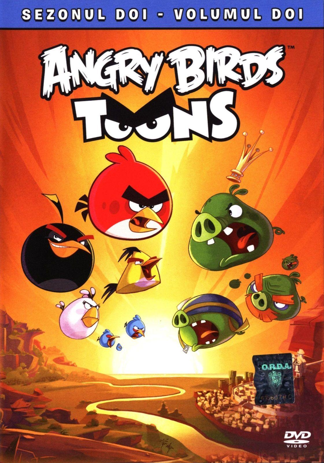 Angry Birds Toons - Сезон 2 - част 2 (DVD) - 1